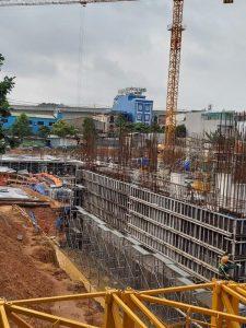 tiến độ xây dựng dự án bcons miền đông