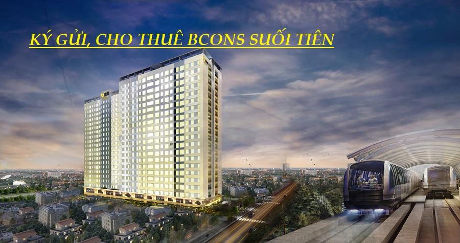 Ký gửi báo giá thuê căn hộ chung cư bcons Suối Tiên