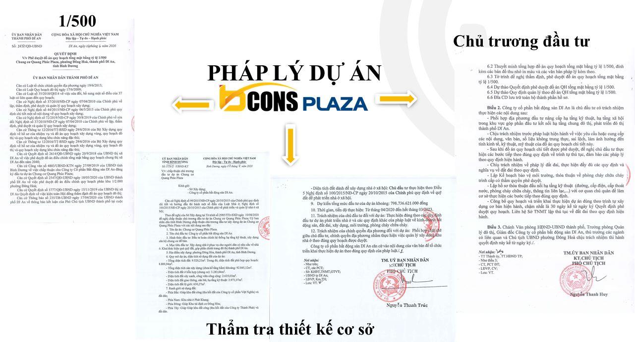 Pháp lý dự án Bcons Plaza Thống Nhất