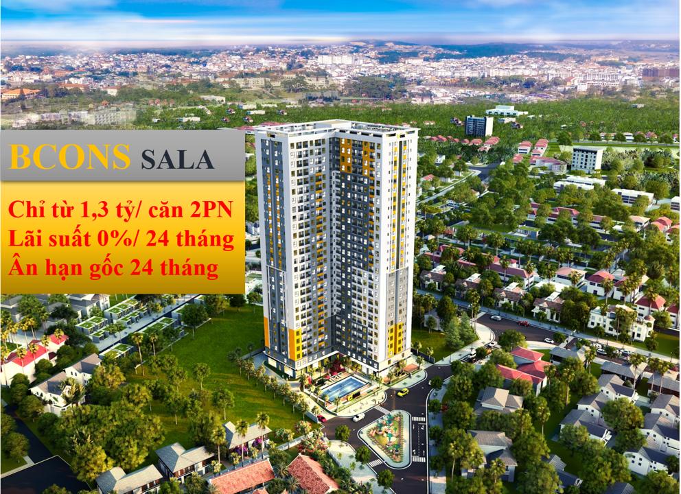 Dự án căn hộ chung cư Bcons Sala - Bcons Đông Tân